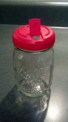 You've already seen that a parmesan cheese lid fits on a Mason jar...so does the lid from powdered Coffeemate creamer!