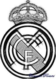 Sketch of Real Madrid's Logo