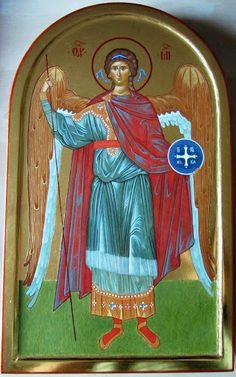 Archangel Michael by Giuseppe Sagona Archangel Michael, Princess Zelda, Fictional Characters, Art, Art Background, Kunst, Performing Arts, Fantasy Characters, St Michael