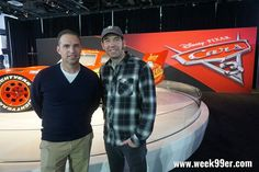 Interview with both Jay Ward and Jay Shuster  from #pixar about #Cars3 is going live on the site tomorrow. They won't be here all week at #NAIAS but don't worry Lightning McQueen will be! @mrjayward #DetroitLovesAutos