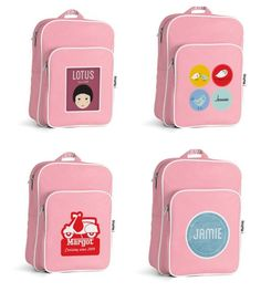 Seriously cool custom backpacks with hundreds of personalization options for boys and girls at Tiny Me