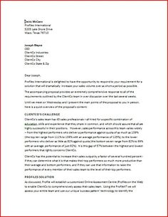 Sales Proposal Letter - Sales proposal letter is written to the new clients to give them a proposal to work with you.