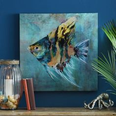 Tropical Fish I Canvas Art Print | Kirklands