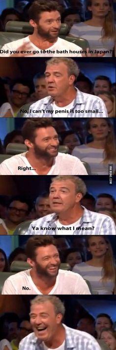 Hugh Jackman on Top Gear Find Funny stuff to Pin here: http://associate.graymafia.com/?p=70314