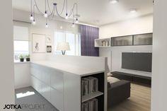 Aranżacje / Pomieszczenie: Salon - Myhome