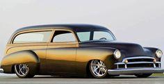 51 Chevy Sedan Delivery