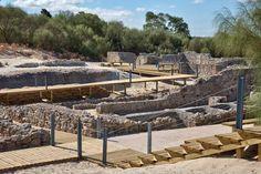 Ruínas Romanas de Tróia , Roman Ruins in Troia, Alentejo, Portugal