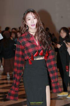 Dal Shabet Subin @ 2017 Seoul Fashion Week