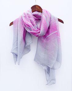 Gray marokkanischen Stil Schal Tribal Schal Rosa Schal Aztec Schal Strand Wrap Sarong