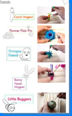 felting tutorials.
