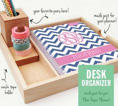 Desk Organizer for Your Planner
