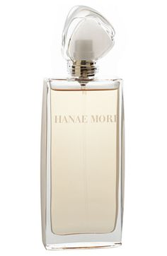 "Hanae Mori's ""Butterfly."" A modern fragrance with a hint of vanilla, peony, strawberry and jasmine."