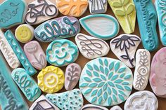 hand carved stamps by minna-so, via Flickr