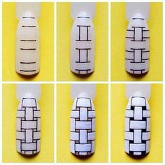 Nails Diy Sharpie Art Tutorials Ideas For 2019 Nail Art Designs Videos, Gel Nail Art Designs, White Nail Designs, Nail Art Videos, Toe Designs, Nails Design, Cute Nail Art, Nail Art Diy, Easy Nail Art