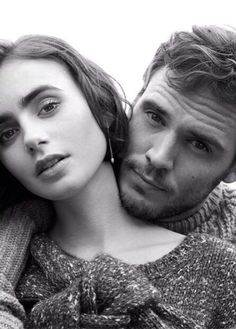 Sam Claflin & Lily Collins #LoveRosie #British