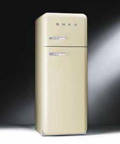 ORANGE smeg Standkühlschrank mit Gefrierfach, FAB28LO1 orange ... | {Standkühlschränke 42}