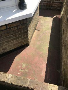 My front garden before I tiled it. It cost me all in to transform it. Victorian Terrace, Sidewalk, The Originals, Garden, Projects, Log Projects, Garten, Blue Prints, Side Walkway