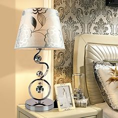 Creative Minimalist Table Lamp Bedside Lamp Crystal Lamps(220-240V) – AUD $ 72.77