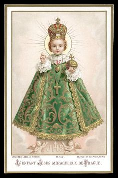 The Miraculous Infant Jesus of Prague