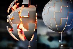Expandable Light Sphere - David Wahl