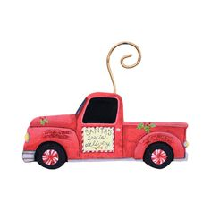 c036a99e99cef Cowboy Truck Ornament - The Round Top Collection C9078