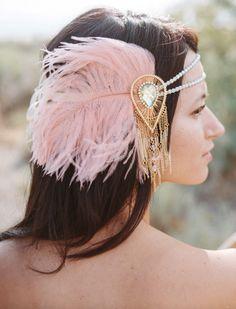 Bohemian Bridal Accessories | Burnett's Boards - Wedding Inspiration