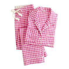 16d16ff76f J.Crew Gift Guide  women s classic tartan flannel pajama set ...