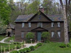 The Orchard House in Concord,MA. Where Louisa May Alcott and her family lived.