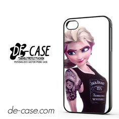 Elsa Frozen Rock Punk For Iphone 4 Iphone 4S Case Phone Case Gift Present YO
