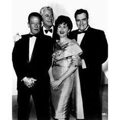 Perry Mason Cast: William Talman, William Hopper, Barbara Hale, Raymond Burr #perrymason