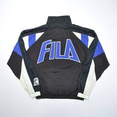 Vintage FILA 90s Jacket / Fila Tennis Windbreaker / Streetwear Jacket / Fila Old school Jacket / Multi Color Block Jacket / Hip Hop Swag