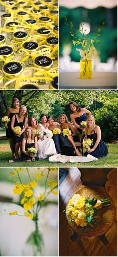 yellow flowers?  ...but I think they'd be better if they were mixed with white @hannah sto