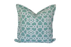Sage Trellis Scatter Cushion by Elle Kay Fabrics