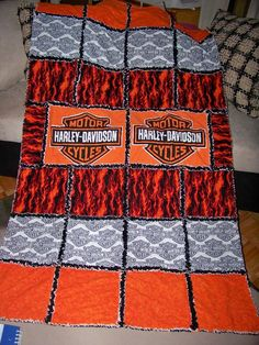 Harley Quilt Desiree Slate You Should Totally Make One