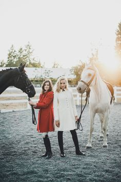 The perfect holiday coat by O'Shaughnessey Apparel. Riding Lessons, Gifts For Horse Lovers, Equestrian Style, Show Horses, Covered Buttons, Silhouette, Western Style, Coat, Animals