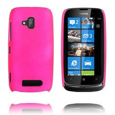 Hard Shell (Hot Pink) Nokia Lumia 610 Cover