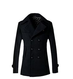 QualityUC Mens Apparel Fashion Clothes American Style Winter Coat Suit Jacket