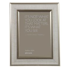 "Buy John Lewis Champagne Edge Linen Photo Frame, 5 x 7"" (12 x 18cm) Online at johnlewis.com"