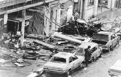 Irish politics (Dublin car bombing by UVF in Images Of Ireland, Ireland Homes, Photo Engraving, Dublin Ireland, Military History, Old Photos, Image Search, Irish, Fire
