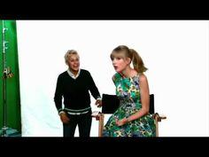 Ellen scares Taylor...again