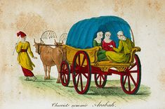 An Ottoman carriage. Antoine Laurent, Ottoman, Illustration Art, Costumes, Painting, Fashion, Moda, Dress Up Clothes, Fashion Styles