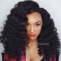 Curls on Curls. || For Koils collection in lengths 22in + 24in (3 bundles) styled with a curling wand