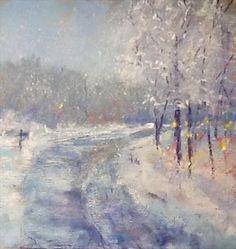 Pastel Painter Cooks By Sandi Graham: Winter Wonderland