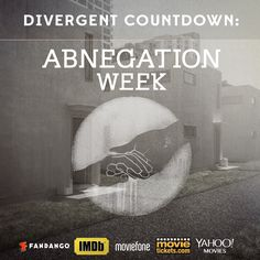 Countdown to Divergent! In honor of the selfless faction, 5 sites will each give away 2 tickets to the World Premiere for Abnegation Week.
