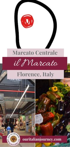 Mercato in Florence is a unique shopping and dining experience. Vendors galore selling everything you can imagine. #Italy #Florence #shopping #food #dining #restaurants