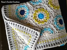 Nana's Straight Hexagon Edge, free pattern by Des Maunz, great share, thanks so xox Stitch Crochet, Crochet Motif, Crochet Designs, Crochet Stitches, Knit Crochet, Crochet Patterns, Crochet Afghans, Cross Stitches, Loom Patterns