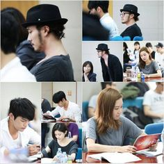 So Ji Sub, Gong Hyo Jin, Seo In Guk, and more attend first script reading for 'The Sun of My Master' | allkpop
