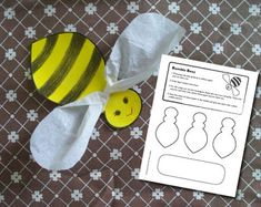 Bumble+Bees+Craft+from+CatTenneDesigns+on+TeachersNotebook.com+-++(1+page)+