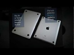 #iPad back protection - watch this #video.  #DIY  #tech  #Apple  #design