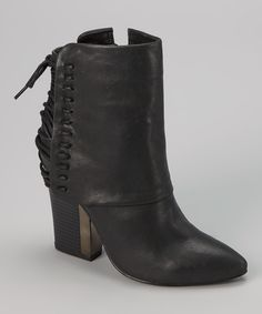 Another great find on #zulily! Black Melody Boot by Bumper #zulilyfinds